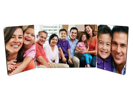 Unisub Chromaluxe Tri-hinged Photo Panel