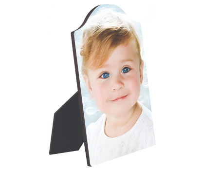 """Unisub Chromaluxe 5""""x7"""" Photo Panel With Arch Top And Easel"""