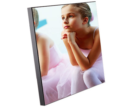 "Unisub Chromaluxe 11.6""x11.6""x5/8"" MDF Chamfer Edge Photo Panel"