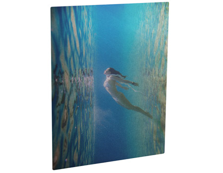 "Unisub Chromaluxe 8""x10"" Clear Aluminum Photo Panel"