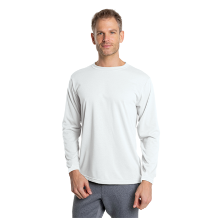 Vapor Apparel Mens Basic Long Sleeve T Shirt