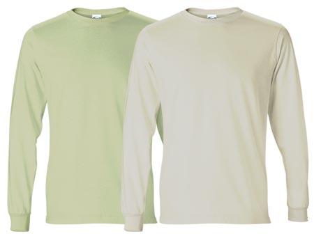 Vapor Apparel Mens Basic Long Sleeve T Shirt, American Back Country