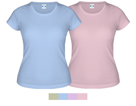 Vapor Apparel Ladies Basic Classic Short Sleeve T Shirt
