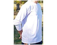 Vapor Apparel Mens Eco Running Crew Neck-Long Sleeve T Shirt