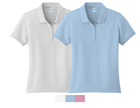 Vapor Apparel Ladies Eco Performance Polo Shirt