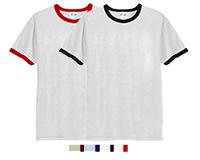 Vapor Apparel Mens Ringer Short Sleeve T Shirt