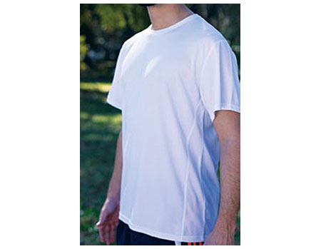 Vapor Apparel Mens Eco Running Crew Neck-Short Sleeve T Shirt