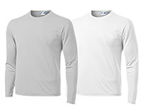 Vapor Apparel Youth Micro-Fiber Long Sleeve Shirt