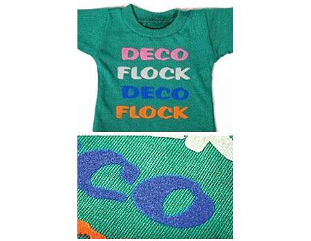 DecoFlock Heat Transfer Flock