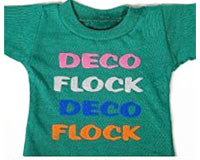 DecoFlock Heat Transfer Flock