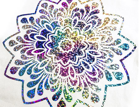 DecoSparkle Heat Transfer Vinyl