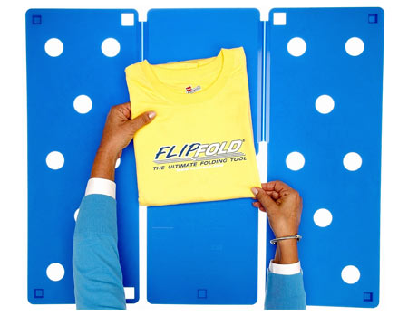 FlipFold Shirt Folder T-Shirt Folding Board For Perfect Shirt Folding