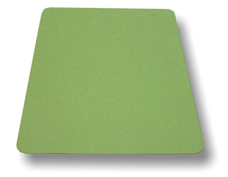 Green Heat Conductive Rubber 40x36x.125