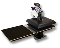 Geo Knight DC-Twin Shuttle Table for DC16 Heat Press swing away