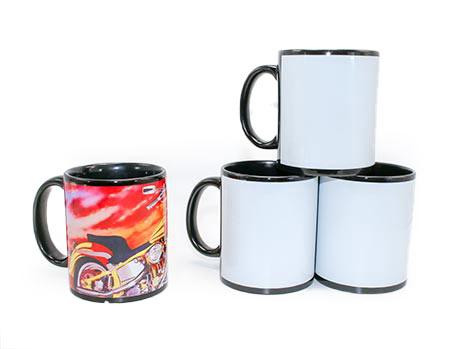 Black Ceramic Sublimation Mug 11oz