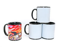 Black Ceramic Sublimation Mug 11oz