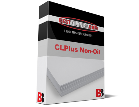 BestBlanks CLPlus Non-Oil High Temp 8.5x11 Heat Transfer Paper