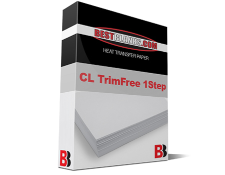 BestBlanks CL TrimFree 1 Step, 8x11 Heat Transfer Paper