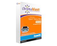 Epson 4800 Chromablast Cartridge Cyan