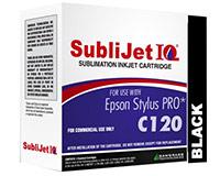 Epson C120 SubliJet IQ Sublimation Ink - Black