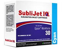 Epson WF30 SubliJet IQ Sublimation Ink - Cyan