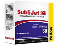 Epson WF30 SubliJet IQ Sublimation Ink - Yellow