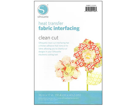 Silhouette Clean Cut Fabric Interfacing