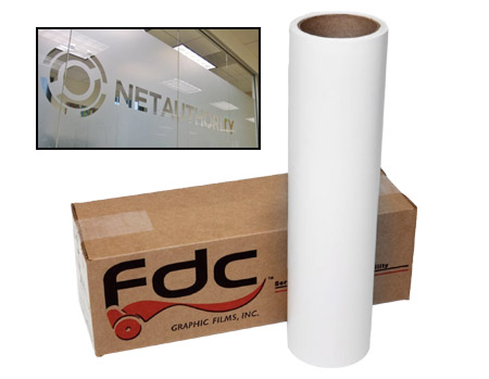 FDC 3500 Sign Vinyl Etched Glass Film 48x50