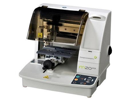 Gravograph M20 PIX Impact Engraver and Printer