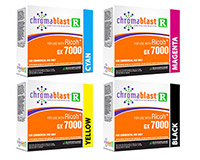 Chromablast Ink Cartridge for Ricoh GX7000