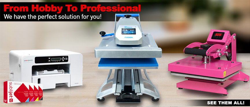 Heat Press - From hobby to professional