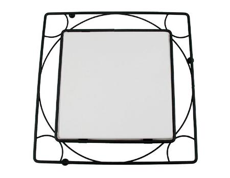 "Metal Trivet Frame For 4.25"" Tile"