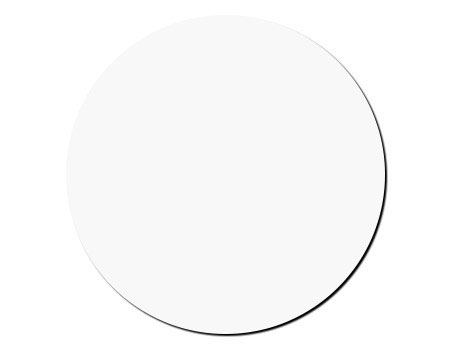 Blank Mouse Pad Round 7.5x0.25