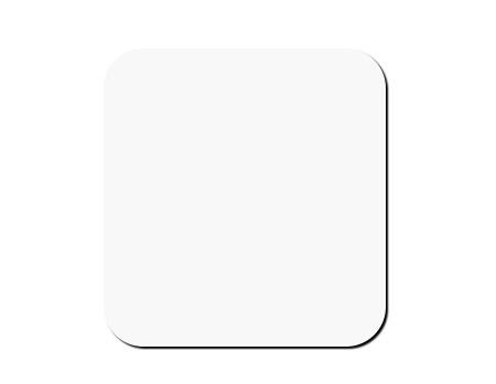 Blank Coaster 3.5x3.5x0.25