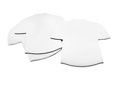 Blank T-Shirt Mouse Pad