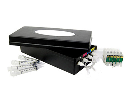 SubliJet-IQ-Quick Connect DX II Kit Sublimation Ink System Epson WF1100 Printers