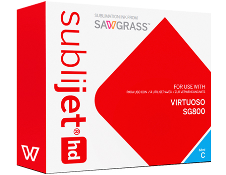 Sawgrass Virtuoso SG800 SubliJet HD Sublimation Ink Cyan - Extended