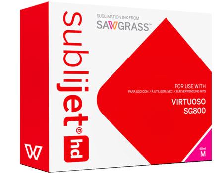 Sawgrass Virtuoso SG800 SubliJet HD Sublimation Ink Magenta - Extended