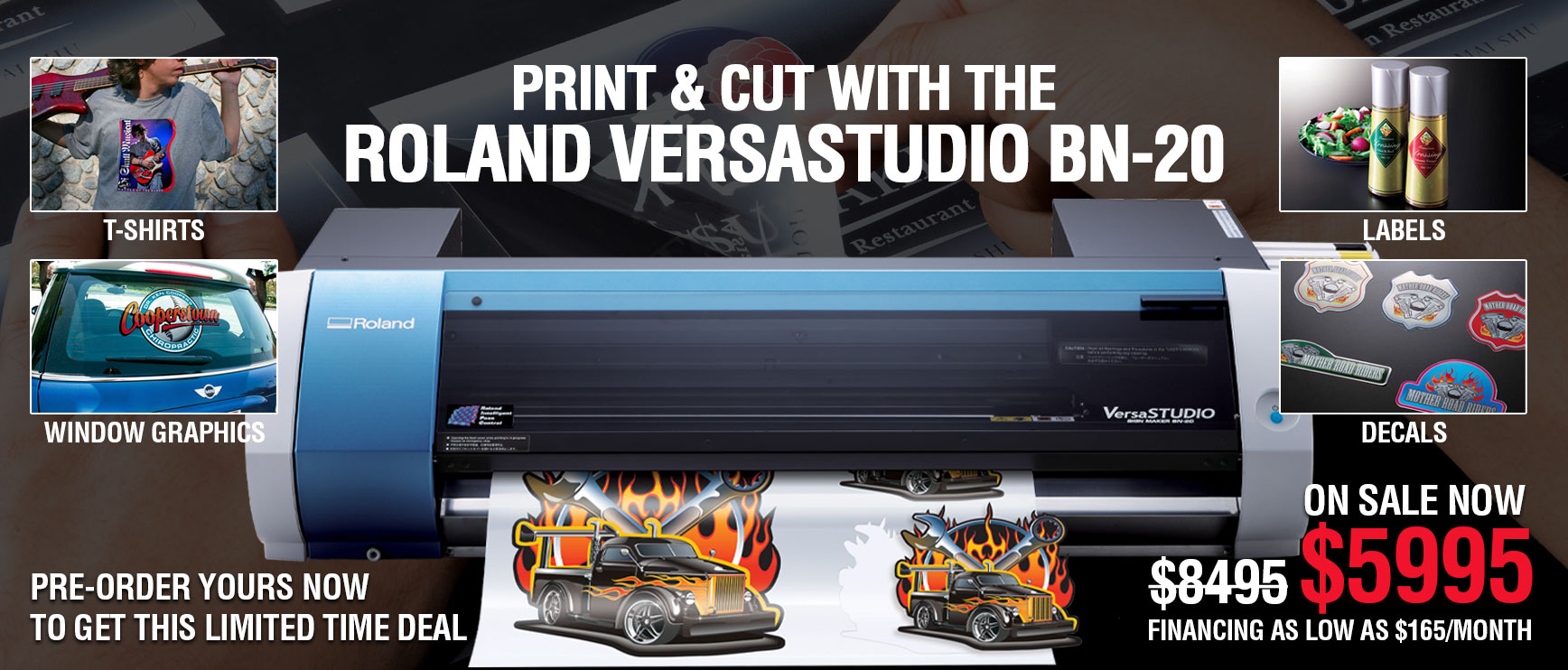 Print & Cut With The Roland VersaStudio BN-20