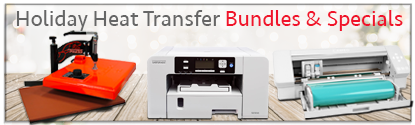 Holiday Heat Transfer Bundles and Specials