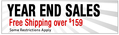 Year End Sale Free Shipping over $159
