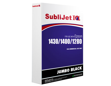 Black Jumbo Bag Sublimation Ink Epson 1430, 1400, 1280 Printers