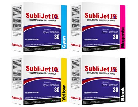 Sublijet IQ Sublimation Ink Cartridges - Epson WorkForce 30 Printer