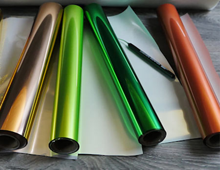 Textile Foils - Gold, Silver, Colors