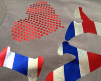 Textile Foils - Patterns and Holographics