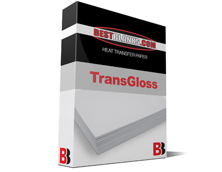 BestBlanks TransGloss 8x11 Heat Transfer Paper