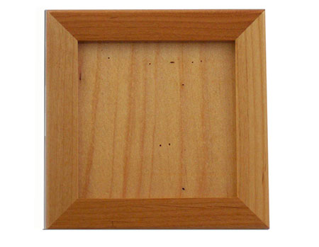 "Alderwood Trivet Frame - Holds 6"" Tile"