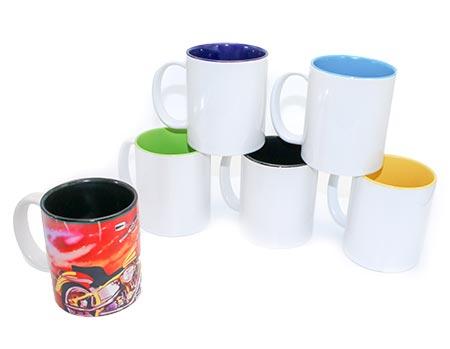 Two Tone Ceramic Sublimation Coffee Mug 11oz