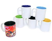 Two Tone Ceramic Sublimation Coffee Mug 11oz