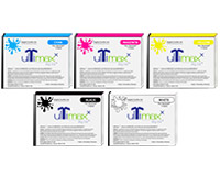 UltiMaxx DTG Ink For AnaJet/MelcoJet, 110ML Cartridges